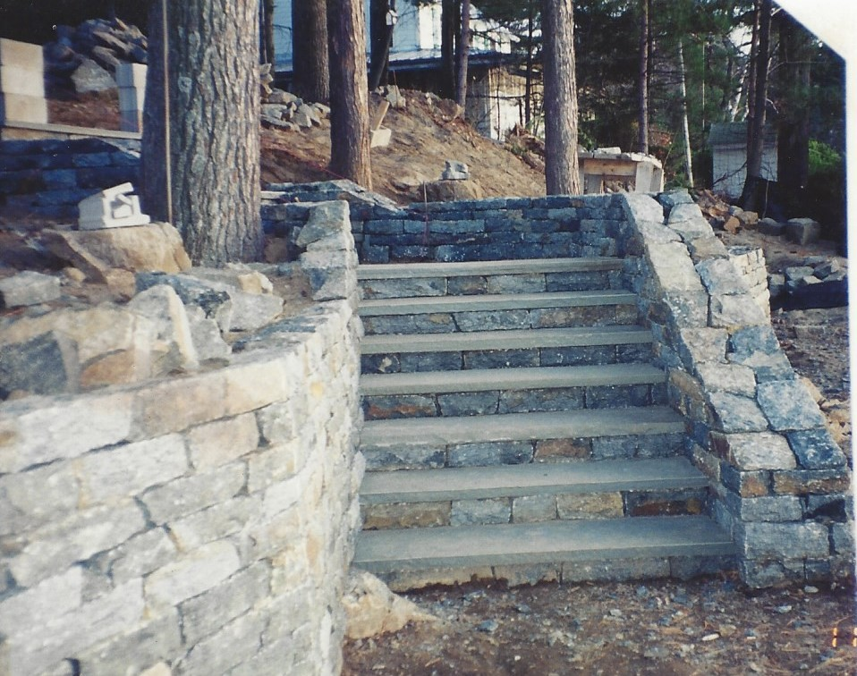 All Natural Stone Retaining Walls All Natural Stone